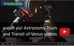 Astronomy Tours Video